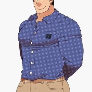 [Itachi Gokko (Takezamurai)] Danchi Otto no Kyuujitsu. ~509 Uchida~ [Kr] – Gay Comics image 020