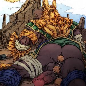 [Anubis Krueger] Renekton vs Nasus [Eng] – Gay Comics