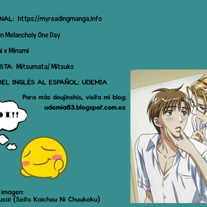 [Mitsumata (Mitsuko)] Seishun Melancholy One Day – Free! dj [Español] – Gay Comics