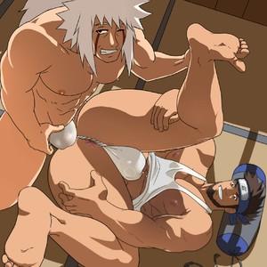 [Inmomakuro] Jiraiya x Asuma Sarutobi (Karazu-Master Edit) – Gay Comics