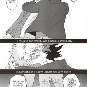 [GiftKuchen (Shitori)] Uwamezukai no Koibito – My Hero Academia dj [Esp] – Gay Comics image 003