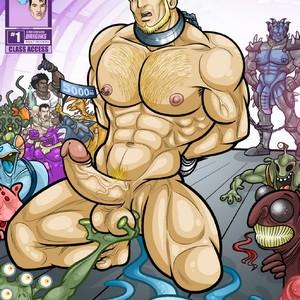 [David Cantero] Star Crossed Origins: Flamer #1 [Eng] – Gay Comics