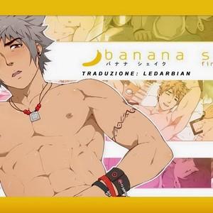 [Black Monkey] Banana Shake – First Service (Story Uncensored) part 1 [It] – Gay Comics