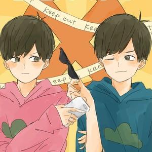 [びいどろ] 歩きスマホはお止め下さい! – Osomatsu-san dj [JP] – Gay Comics